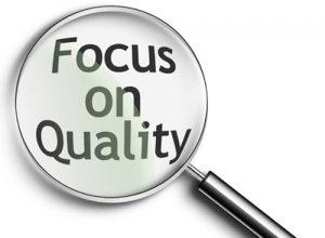 Bildresultat för kvalitet före kvantitet